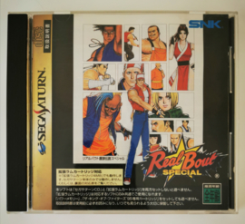 Saturn Fatal Fury Real Bout Special (CIB) Japanese Version
