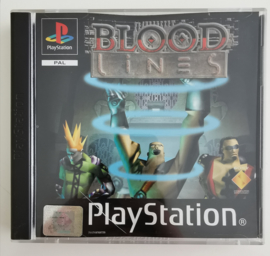 PS1 Blood Lines (CIB)