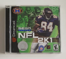 Dreamcast NFL 2K1 (CIB) US Version
