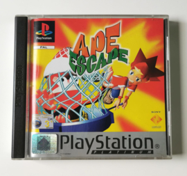 PS1 Ape Escape Platinum (CIB)
