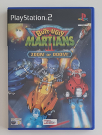 PS2 Butt-Ugly Martians - Zoom or Doom! (CIB)