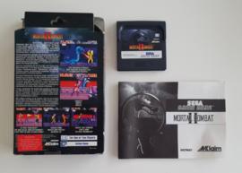Game Gear Mortal Kombat II (CIB)