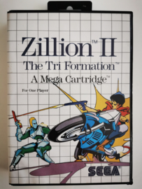 Master System Zillion II - The Tri Formation (Cart + Box)