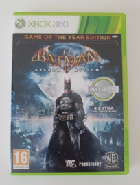 X360 Batman Arkham Asylum - Game of the Year Edition (CIB)