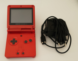 Gameboy Advance SP Fire Red AGS-001