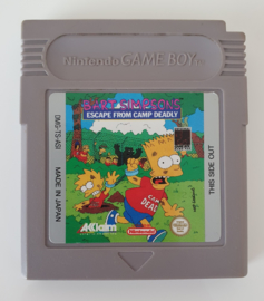 GB Bart Simpson's Escape From Camp Deadly (cart only) ASI