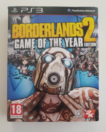 PS3 Borderlands 2 - Game of the Year Edition (Boxed)