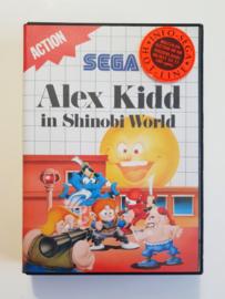 Master System Alex Kidd in Shinobi World (CIB)