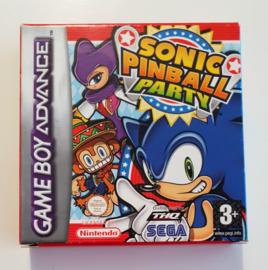 GBA Sonic Pinball Party (CIB) FAH