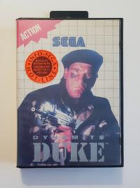 Master System Dynamite Duke (Box + Cart)