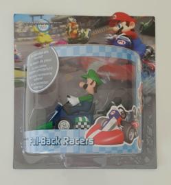 Mario Kart Wii Pull-Back Racers - Luigi (12cm) New