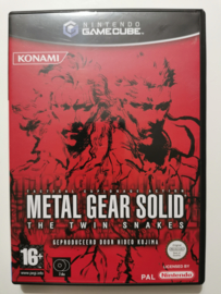 Gamecube Metal Gear Solid The Twin Snakes (CIB) HOL