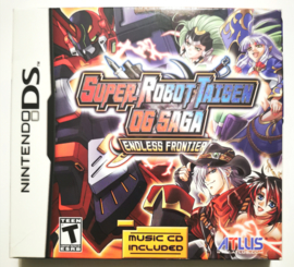 DS Super Robot Taisen OG Saga - Endless Frontier Special Launch Edition (CIB) USA