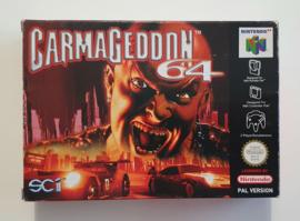 N64 Carmageddon (CIB) EUU