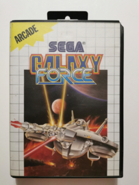 Master System Galaxy Force (Box + Cart)