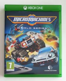 Xbox One Micro Machines World Series (CIB)