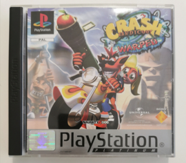 PS1 Crash Bandicoot 3 - Warped Platinum (CIB)