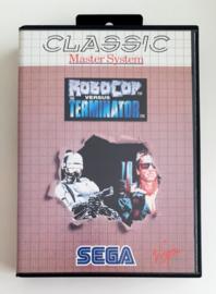 Master system Robocop Versus the Terminator - Classic Series (CIB)