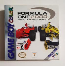 GBC Formula 1 2000 (CIB) USA