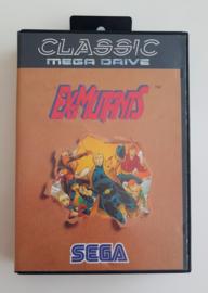 Megadrive Ex-Mutants Classic Series (CIB)