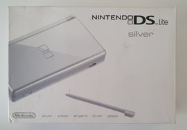 Nintendo DS Lite Silver (complete without inlay)