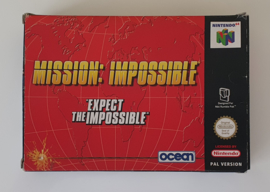 N64 Mission: Impossible - Expect the Unexpected (Box + Cart) HOL
