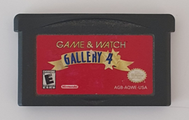 GBA Game & Watch Gallery 4 (cart only) USA