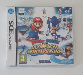 DS Mario & Sonic op de Olympische Winterspelen (CIB) HOL