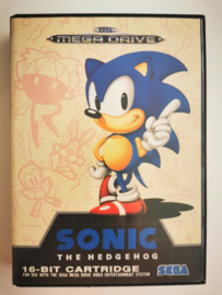 Megadrive Sonic the Hedgehog (CIB)