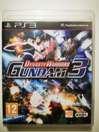 PS3 Dynasty Warriors Gundam 3 (CIB)