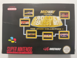 SNES Midway Presents Arcade's Greatest Hits - The Atari Collection 1 (CIB) EUR