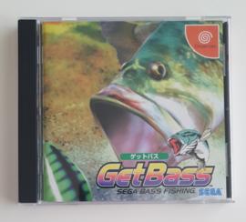 Dreamcast Get Bass (CIB) Japanese Version