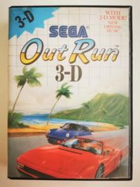 Master System Out Run 3-D (Box + Cart)