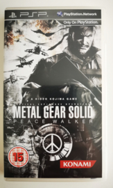 PSP Metal Gear Solid - Peace Walker (CIB)