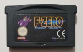 GBA F-Zero Maximum Velocity (cart only) EUR