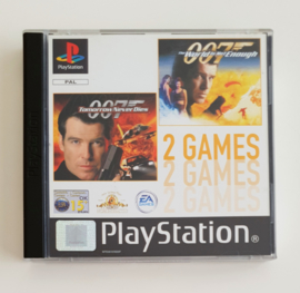 PS1 Tomorrow Never Dies / The World is Not  Enough (CIB)