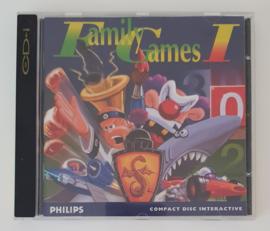 CD-I Family Games I (CIB)