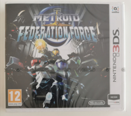 3DS Metroid Prime - Federation Force (factory sealed) HOL