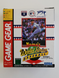 Game Gear Nomo's World Series Baseball (CIB) Japanese Version