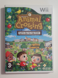 Wii Animal Crossing - Let's Go to the City (CIB) HOL
