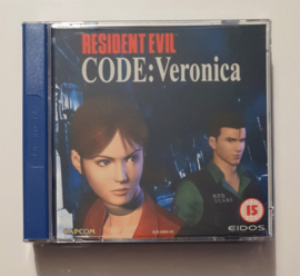 Dreamcast Resident Evil Code: Veronica (CIB)