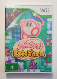 Wii Kirby's Epic Yarn (factory sealed) AUS