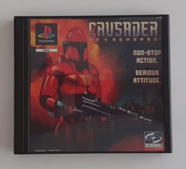 PS1 Crusader - No Remorse (CIB)