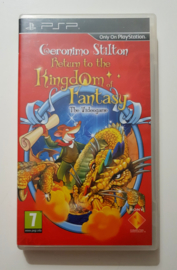 PSP Geronimo Stilton - Return to the Kingdom Of Fantasy The Videogame (Promo Copy) New