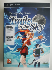 PSP The Legend of Heroes - Trails in the Sky Collector's Edition (Factory Sealed)