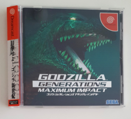 Dreamcast Godzilla Generations - Maximum Impact (CIB) Japanese Version