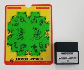 Vectrex Armor..Attack (cart + overlay)