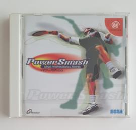 Dreamcast Power Smash Sega Professional Tennis (CIB) Japanese Version