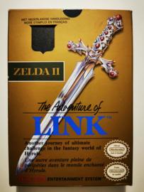 NES The Legend of Zelda II - The Adventure of Link (CIB) FAH
