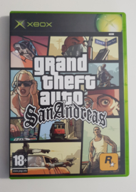 Xbox Grand Theft Auto San Andreas (CIB)